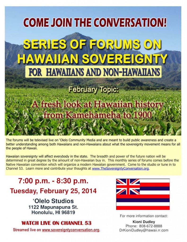 Hawaiian Sovereignty Flyer 2-20-14